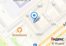 Компания «Отличная мебель» на карте