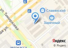 Компания «Тескома» на карте