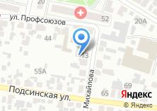 Компания «КрисТелеком телекоммуникационная компания» на карте