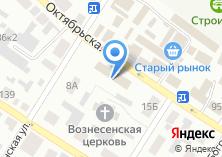 Компания «Октябрьская» на карте