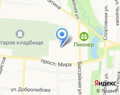КомпанияМегаполис-Сервис на карте города