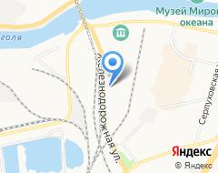 Компания АвтоСервис 58 на карте города