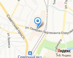 КомпанияРосБизнесРесурс на карте города