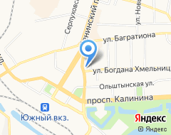 Компания ФОРПОСТ на карте города