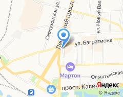 КомпанияКалининградская транспортная компания на карте города