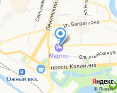 КомпанияMarton Olimpic на карте города