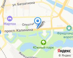 Компания 2BORISOVO на карте города