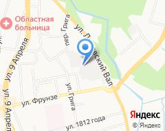Компания Калининградский таксопарк на карте города