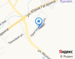 Компания СТО Дорог на карте города