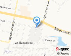 Компания Селена-Калининград на карте города