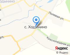 Компания Строящееся административное здание по ул. Учхоз Почтовая (Ходынино) на карте города