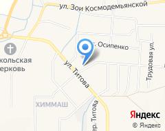 Компания Орион на карте города