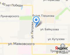 Компания Средняя общеобразовательная школа №8 на карте города