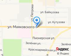 Компания Мебель-маркет на карте города