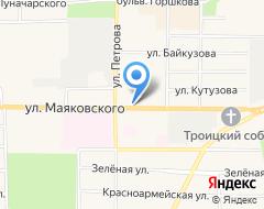 Компания Волго-Вятский банк Сбербанка России на карте города
