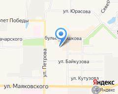 Компания ДЮСШ Рузаевского муниципального района на карте города