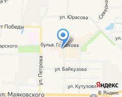 Компания Булочная на карте города