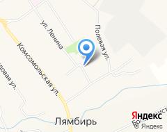 КомпанияЛямбирская средняя общеобразовательная школа №1 на карте города