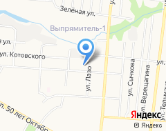 Компания1 отряд ФПС по Республике Мордовия, ФГКУ на карте города