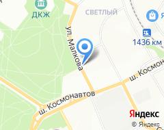 Компания Золотой мебельщик на карте города