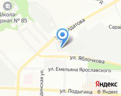 Компания ВЕЛО59 на карте города