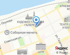 Компания Пермский Губернский Антикварный Центр на карте города