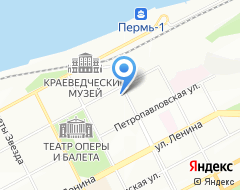 Компания МАРТИНЕКС ПЕРМЬ на карте города