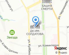 Компания Пермская чечётка на карте города
