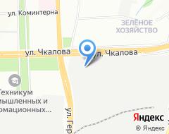 Компания Пермский краевой территориальный центр медицины катастроф на карте города