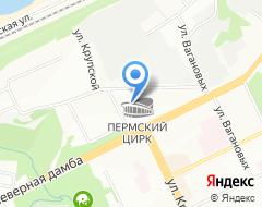 Компания Пермский государственный цирк на карте города