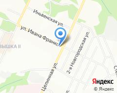 Компания Ново-Лядовская вода сеть киосков по продаже питьевой воды на карте города