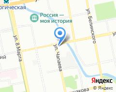 Компания Reaktiv Advertising & Design на карте города