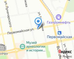 Компания MUSTPRINT на карте города