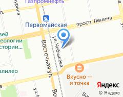 Компания Урал-Флаг на карте города