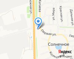 Компания АЗС Роснефть на карте города