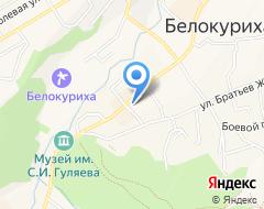 Компания Сбербанк России на карте города