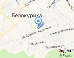 Компания Центр занятости населения г. Белокурихи на карте города