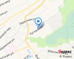 Компания Новосибирский государственный университет экономики и управления на карте города