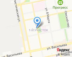 КомпанияКиоск по заточке инструментов на карте города