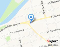 Компания Телефоника на карте города