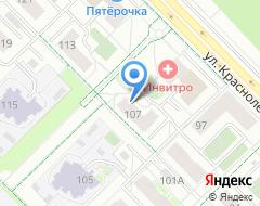 Компания Флагман на карте города