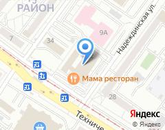 Компания Триликс на карте города