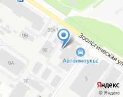 Компания АГАТ на карте города