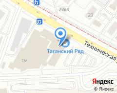 Компания Транскапиталбанк на карте города