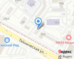 Компания Трейн-сервис на карте города