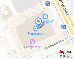 Компания Powerhouse gym на карте города
