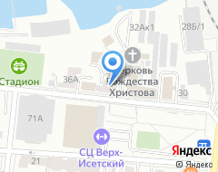 Компания ВИЗ на карте города