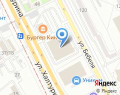 Компания Рекламный партнер на карте города