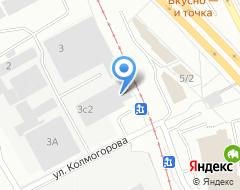 Компания Аграф на карте города