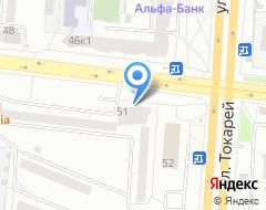 Компания Автошкола-2000 на карте города